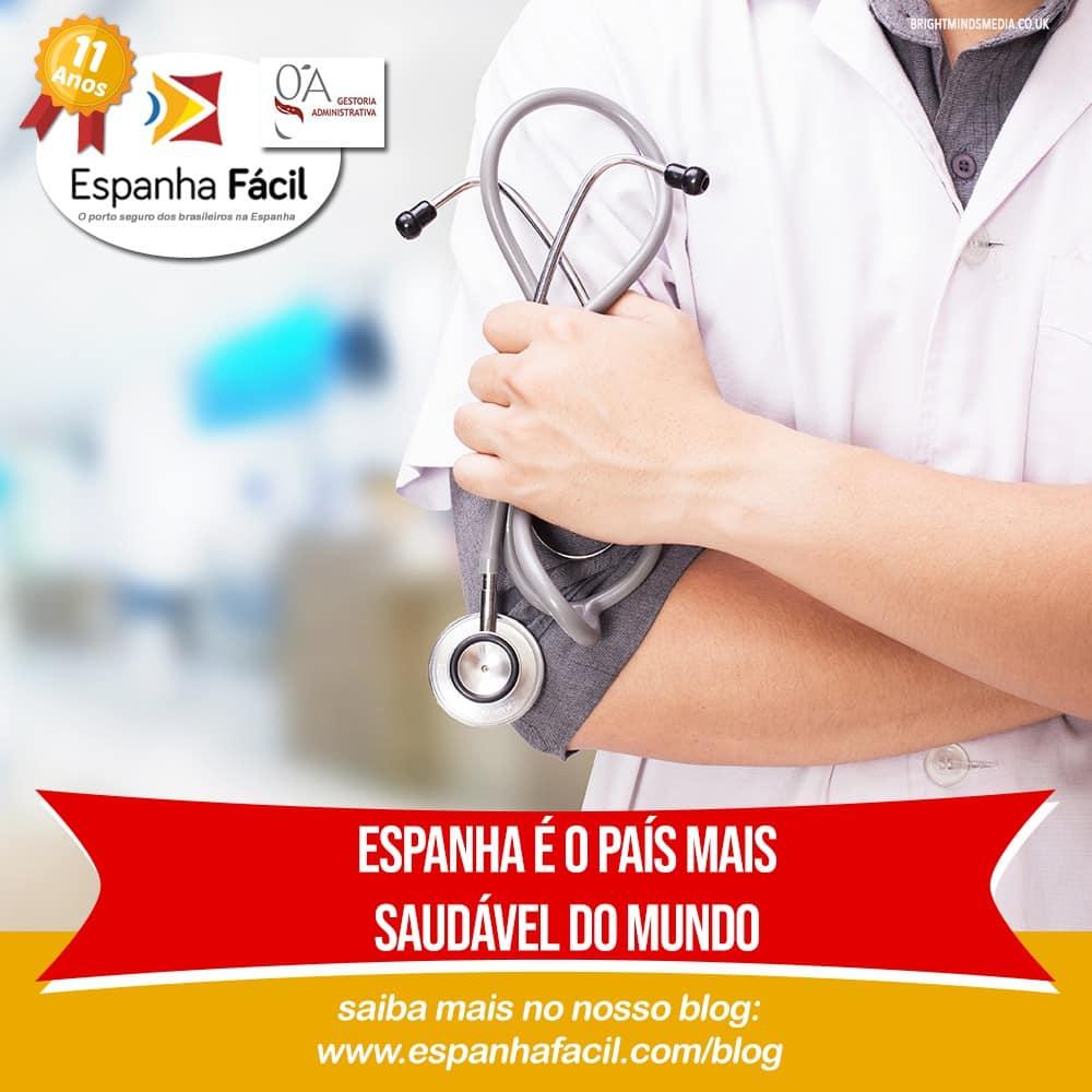 Espanha é o país mais saudável do mundo