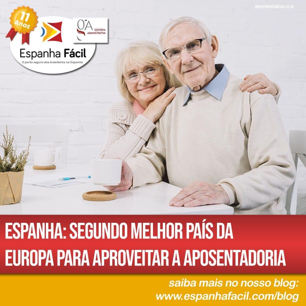 Espanha segundo melhor país da Europa para aproveitar a aposentadoria