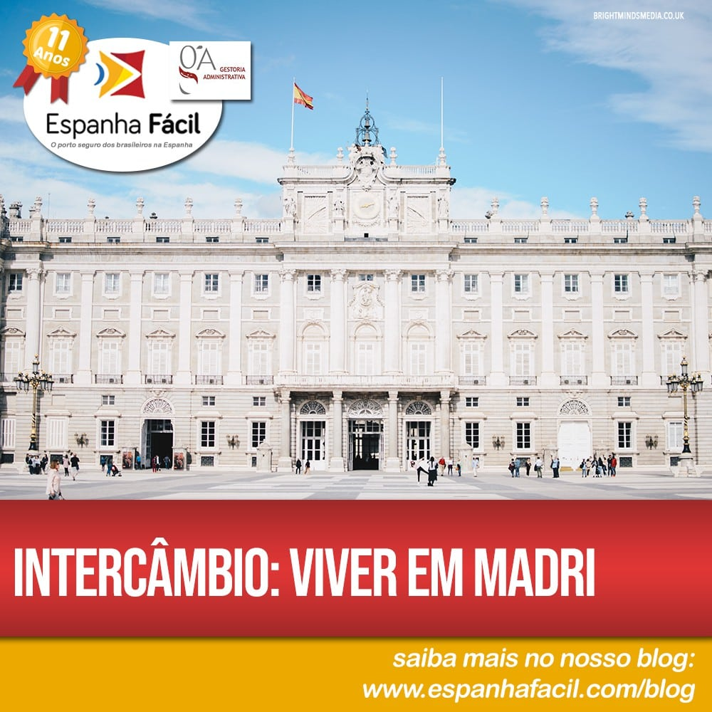 Intercâmbio Viver em Madri