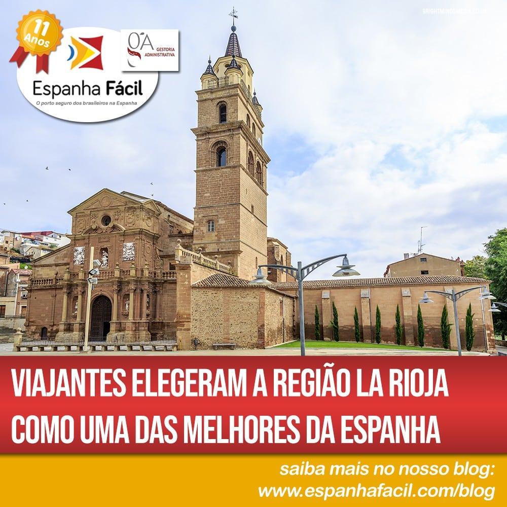 Viajantes elegeram a região La Rioja como uma das melhores da Espanha