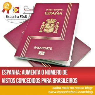 Espanha Aumenta o número de vistos concedidos para brasileiros