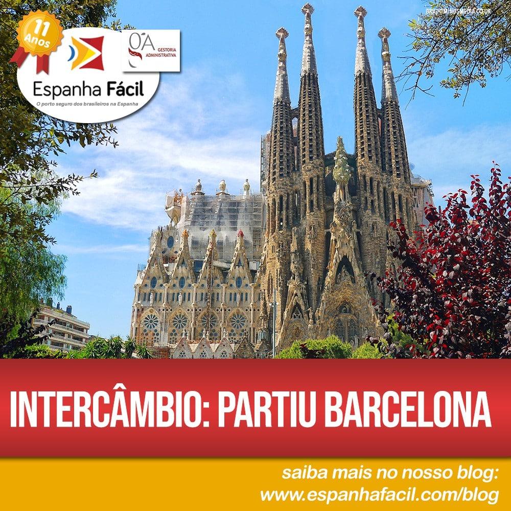 Intercâmbio Partiu Barcelona