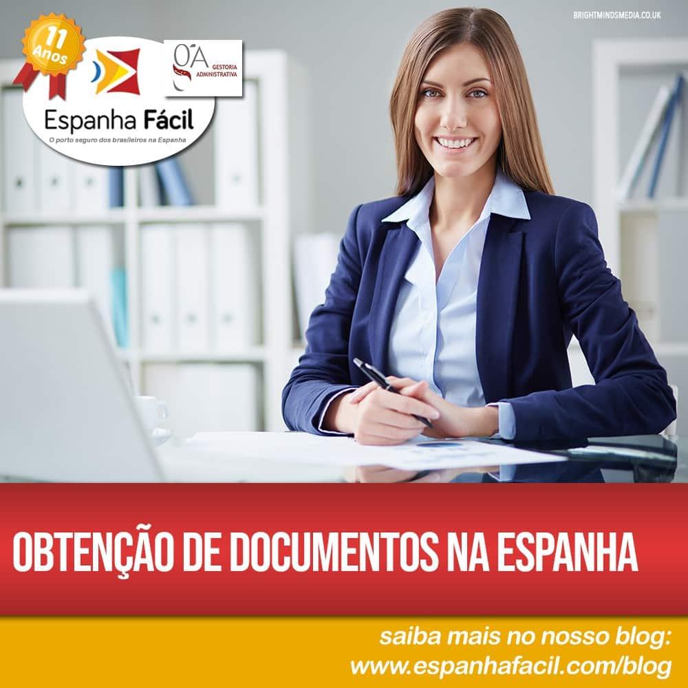 Obtenção de Documentos na Espanha