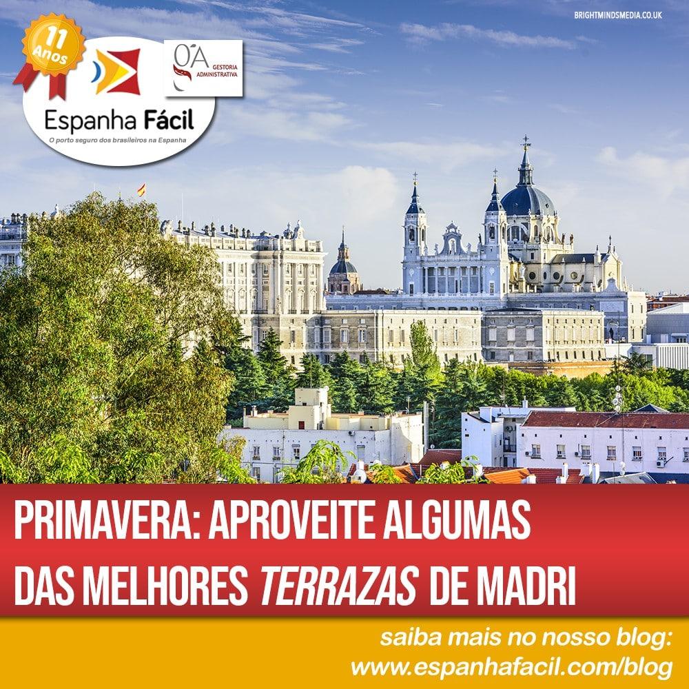 Primavera Aproveite algumas das melhores terrazas de Madri