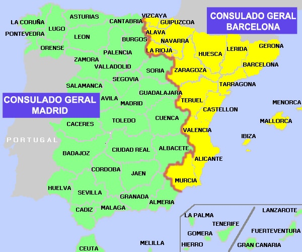 Jurisdição Consular Espanha